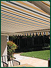 Gazebo with Motorized Sunshades photo